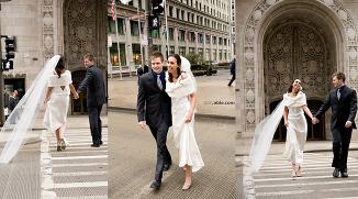 downtown chicago wedding photographer destination wedding bridal session photography