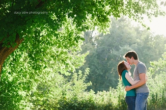 indianapolis engagement photography with a cat - midwest wedding photographer