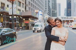 W Lakeshore and Salvatores Chicago Wedding Photography by Stacy Able Photography