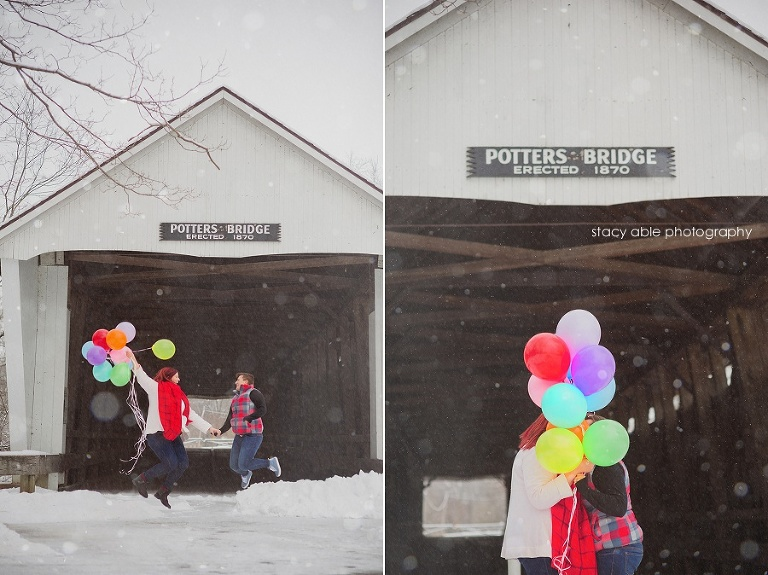 indianapolis snow engagement portraits 01