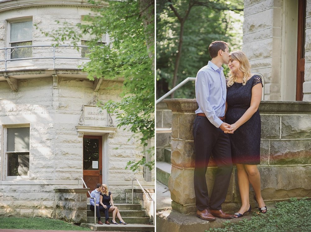 midwest summer engagement photographer