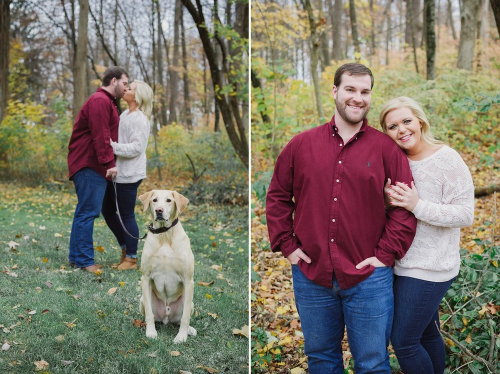 indianapolis midwest engagement photographer