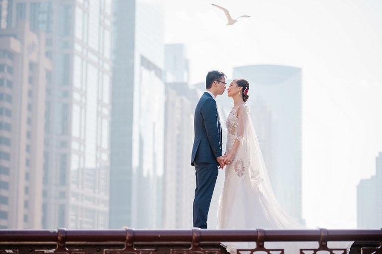 Chicago Wedding at Hotel Palmer and imperial lamian Midwest Wedding Photographer
