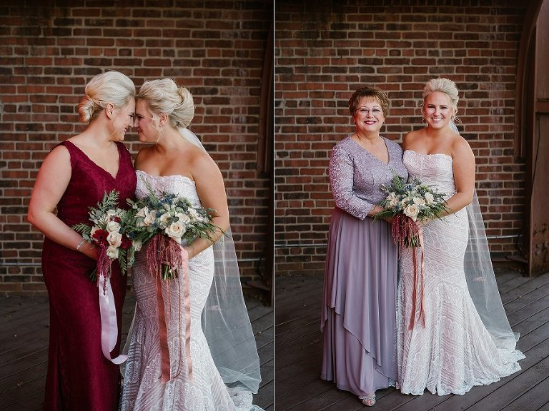 mavris indianapolis downtown wedding photography