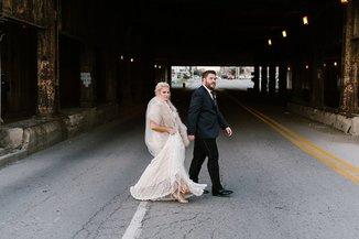 mavris indianapolis downtown wedding photography